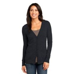 District Made ™  - Ladies Cardigan Sweater. DM415