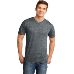 District ®  - Young Mens Microburn™ V-Neck Tee. DT161