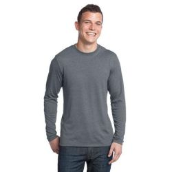 District ®  - Young Mens Textured Long Sleeve Tee. DT171