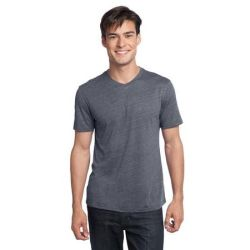 District ®  - Young Mens Textured Notch Crew Tee. DT172