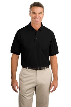 Port Authority - Silk Touch Polo with Pocket.  K500P