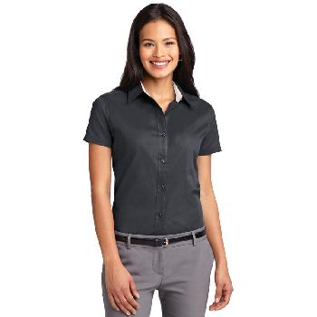 05 - Port Authority Ladies Short Sleeve Easy Care  Shirt.  L508