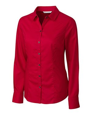 Cutter & Buck Ladies' L/S Epic Easy Care Broken Twill