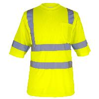 Class 3 Safety Green Short Sleeve T-Shirt. MAX470.
