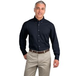 Port Authority - Long Sleeve Twill Shirt.  S600T