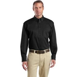 CornerStone - Long Sleeve SuperPro Twill Shirt. SP17